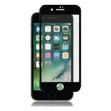 <b>Защитное стекло ONEXT</b> 3D для Apple iPhone 7, черная рамка ...