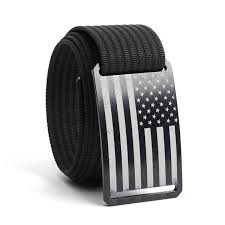 GRIP6 Belts | Men's Vintage <b>USA Black Flag</b> Collection