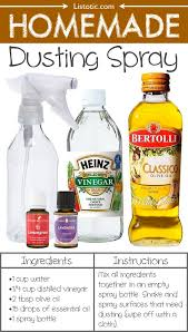 homemade dusting spray 22 everyday products you can easily make from best way to dust furniture