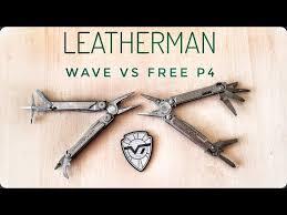 <b>Мультитул Leatherman Free P4</b>. Сравнение с Leatherman Wave ...