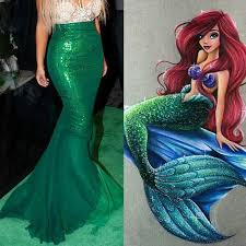 Adult <b>Mermaid</b> skirt costume <b>Mermaid</b> costume by ...