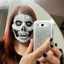 pearl skull golstarling makeup avant garde skulls pearls and ps
