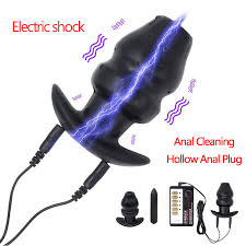 electro shock dilator anal plug stimulator massager electric prostate bullet vibrator orgasm sex toy for woman men