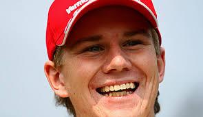 ... Formel-1-Flitzer hatte Nico Hülkenberg das PS-Fieber so richtig gepackt.