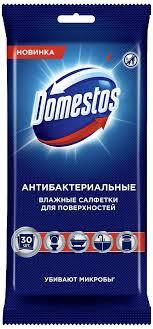 <b>Влажные салфетки</b> Domestos <b>Антибактериальные</b>, для ...