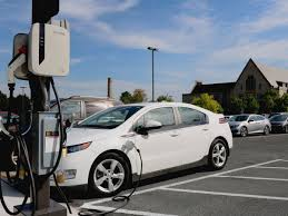 EV <b>charging</b> station comes to campus – St. <b>Olaf</b> College