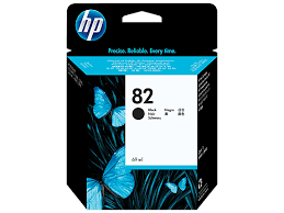 HP <b>82 Black</b> Ink Cartridge (69 ml) (<b>HP Designjet</b> 111 only) - ACS