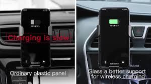 <b>Baseus Metal</b> Wireless Charger <b>Gravity Car</b> Mount - YouTube