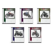"<b>Тетрадь</b> ""<b>Motorcycle Story</b>"", А5, 24 листа, линейка | Купить с ..."