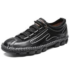 <b>IZZUMI</b> Men's <b>Outdoor Casual</b> Shoes Low Help Leather Loafers for ...