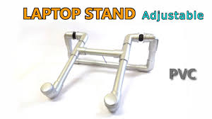 PVC <b>Adjustable Laptop Stand</b> - How to Make DIY - YouTube