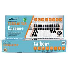 Комплект <b>тёплого пола Neoclima CARBON+</b> 230-0,5-1 38612 ...