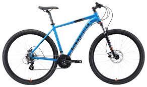 "<b>Велосипед Stark Router 29.3</b> HD 2019 20"" голубой/оранжевый ..."
