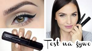 ▷ TEST NA ŻYWO: Eyeliner i tusz <b>Marc Jacobs Beauty</b> ◁ - YouTube