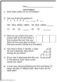 2nd Grade Math Word Problems WorksheetD. Russell