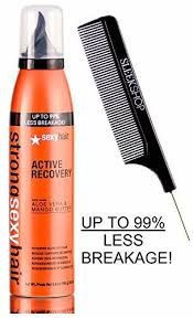<b>Strong Sexy Hair ACTIVE</b> RECOVERY Repairing Blow Dry Foam ...