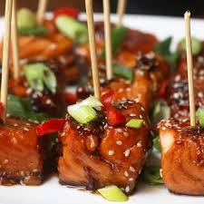 Teriyaki <b>Salmon Bites</b> Recipe by Tasty