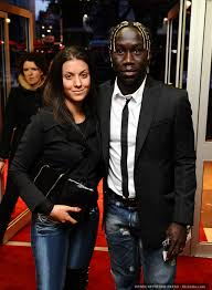 Bacary Sagna and Wife