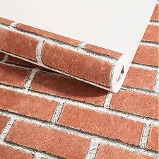 Buy <b>One Piece Wall</b> Paper Simple <b>Modern</b> Brick Pattern All-Match ...