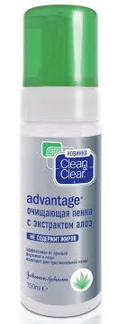 Купить <b>Очищающая пенка</b> Clean&Clear Advantage с <b>экстрактом</b> ...