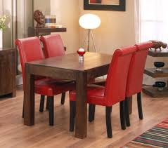 Red Dining Room Sets Inspiring Small Dining Room Decor Ideas Red Decorating Design With