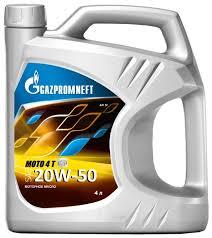 <b>Моторное масло Газпромнефть Moto</b> 4 T 20W-50 4 л — купить по ...
