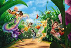 Komar <b>Disney Fairies</b> Meadow 3,68x2,54 — купить <b>обои</b> в ...