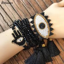 <b>Rttooas</b> Friendship Braclet for Women <b>Handmade</b> DIY Evil Eye ...
