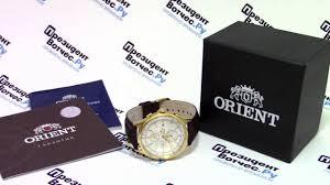 <b>Часы Orient TT0V002W</b> [FTT0V002W0] - видео обзор от ...