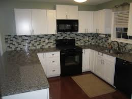 painted white shaker cabinets oa