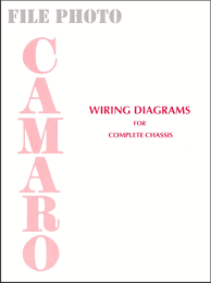 1967 1976 camaro wiring diagrams for complete chassis camaro chassis wiring diagrams 1967 1976