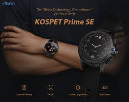<b>KOSPET Prime</b> SE 4G Smart Watch Phone 1.6 inch 1260mAh ...