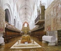 nave central Iglesia Monasterio de las Huelgas