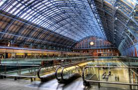Image result for san pancras station