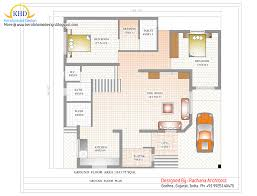 Duplex House Plan and Elevation   Sq  Ft    home applianceGround Floor Plan   Sq M   Sq  Ft