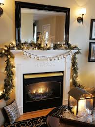 fireplace decorations christmas property apartment