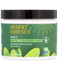 Desert Essence <b>Daily Facial Cleansing Pads</b> 50 Pads