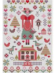"<b>Набор для вышивания</b> крестом ""Mini Pink House"" <b>Riverdrift</b> House ..."