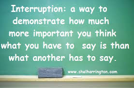 Image result for interrupting conversation