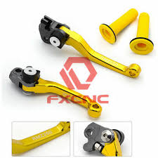 FXCNC Brake Clutch Pivot Lever Grip <b>For Suzuki</b> RM125 RM250 ...