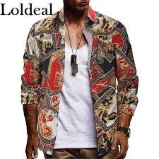 Buy <b>Loldeal</b> Casual <b>Shirts</b> Online | lazada.sg