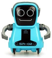 Интерактивная игрушка робот <b>Silverlit Pokibot</b> SR-02 — купить по ...