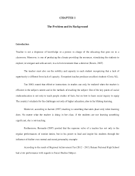 Sample thesis paper filipino Chapter   dissertation
