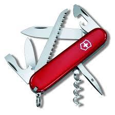 <b>Нож перочинный Victorinox Camper</b> 1.3613, серый металлик ...