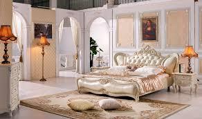 the modern designer leather soft bed large double bedroom furniture american style bed furniture design
