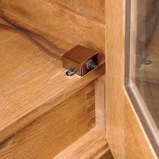 pressure switch cabinet light switch