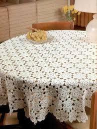 круглая <b>скатерть</b> на стол из мотивов | Crochet tablecloth, Crochet ...