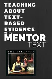 best ideas about the stranger the stranger mentor text in the upper grades great tips for using it