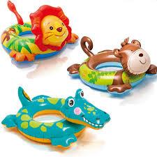 Animal Summer <b>Kids Child Cartoon</b> swim ring lion <b>Monkey</b> ...