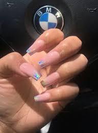 9 Best <b>Holographic powder</b> nails images in <b>2019</b> | Nails, Nail ...